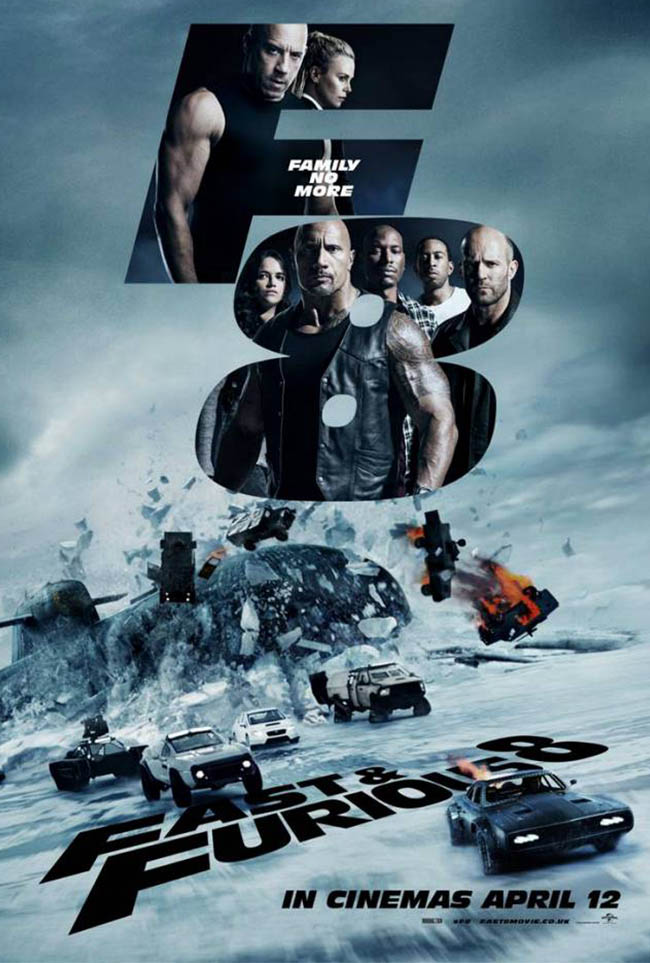 Fast And Furious eight banner