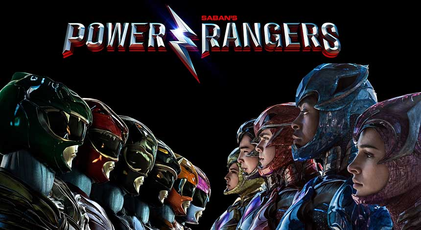 Power Rangers Movie Art